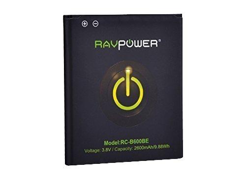 1315 opinioni per RAVPower Batteria 2600mAh di ricambio per Samsung Galaxy S4, GT-i9500, GT-i9505