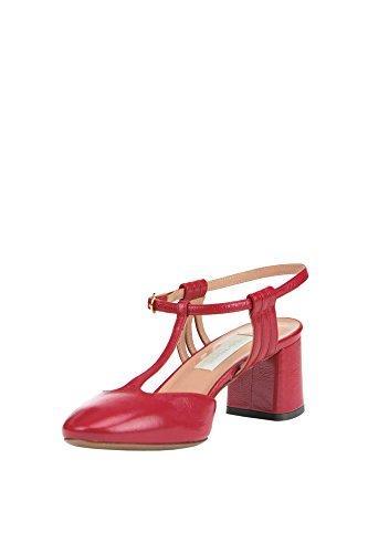 Lautre Koos Vrouwen Mcglcat03196e Rood Lederen Schoenen Met Hoge Hakken