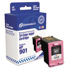 – Remanufactured CC656AN (901) Ink, 360 Page-Yield, Tri-Color