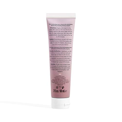 Honest Beauty Prime + Perfect Mask with Superfruits & Shea Butter | VEGAN | Paraben Free, Dermatologist Tested & Cruelty Free | 2 fl. oz.