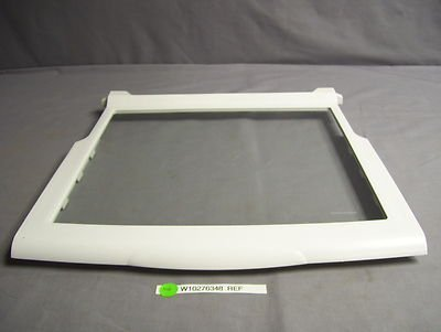W10276348 FRIDGE GLASS SHELF KENMORE WHIRLPOOL MAYTAG ESTATE NEW OEM PART 11