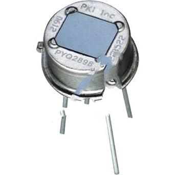 excelitas tecnologías sensores detectores de pyq2898, piroeléctrico infrarrojo – Detectores de doble elemento