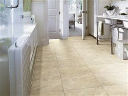 """Shaw Floors Resort Tile 16"""" Luxury Vinyl Tile Flooring Sunlit Sand"""