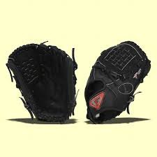 Louisville Slugger TPX Pro Flare Black Ball Glove (Right Hand Throw, 12-inch) - Tpx Pitcher Glove