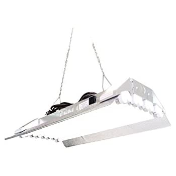 This Item T5 HO Grow Light   2 FT 8 Lamps   DL828S Fluorescent Hydroponic  Indoor Fixture Bloom Veg Daisy Chain With Bulb