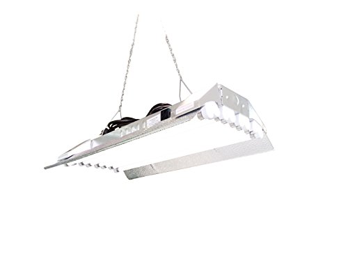 T5 HO Grow Light - 2 FT 8 Lamps - DL828S Fluorescent Hydroponic Indoor Fixture Bloom Veg Daisy Chain with Bulb by DuroLux