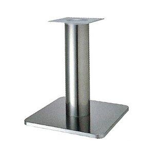 e-kanamono テーブル脚 スカイS7460 ベース460x460 パイプ76.3φ 受座240x240 ステンレス AJ付 高さ700mmまで B012CC34G0