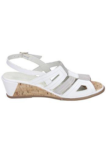 lavendel Femme 710602 Comfortabel Sandales Weiß A87FqI