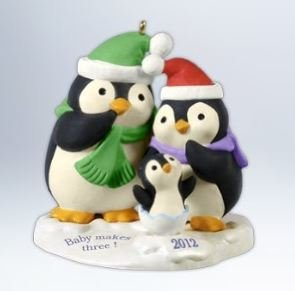 (Hallmark 2012 Baby Makes Three Keepsake Ornament)
