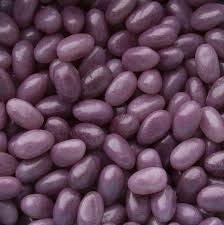Smarty Stop Jelly Beans All Flavor (Grape Dark Purple, 5LB) ()