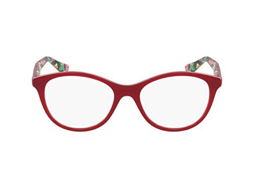 Vogue VO2988 Eyeglass Frames 2340-51 - Red - Red Vogue Eyeglass Frames