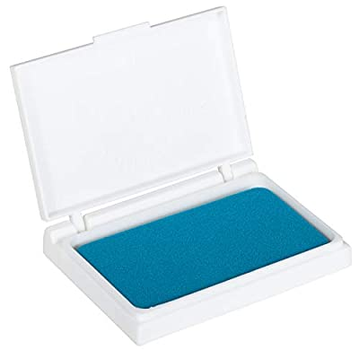 Ready 2 Learn Washable Stamp Pad - Harbor Blue - Non-Toxic - Fade Resistant - Decorate Scrapbooks, Posters and Cards: Industrial & Scientific