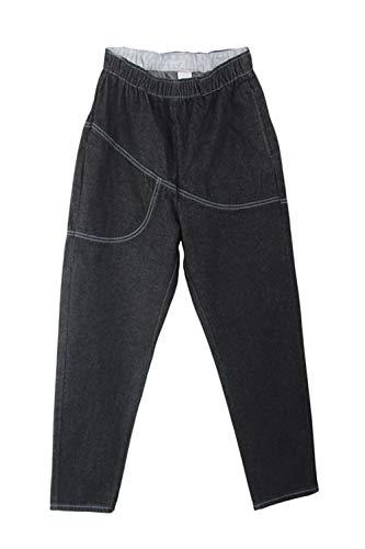Jeans lastique Noir Femmes Plus Taille Automne Pantalon Printemps Denim Casual Taille La S6Szq1PW