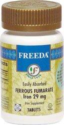 Freeda Ferrous Fumarate Iron 29 mg. - 100 TAB