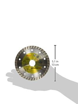 Bosch 2608602393 Disque /à tron/çonner diamant/é standard for universal turbo 115 x 22,23 x 2 x 10 mm