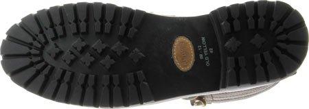 Blackstone Im12 Old Yellow Sheepskin Herren Chukka Boots Black