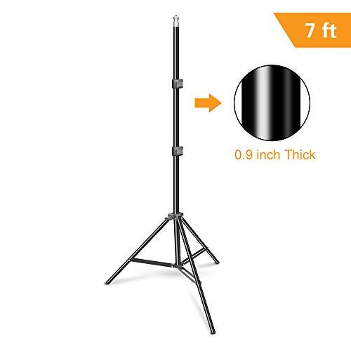 Emart 83 inch/7feet/210cm Photography Photo Studio Light Stand for Video Lighting, Softbox, Umbrella, Ring Light, Camera, Flash
