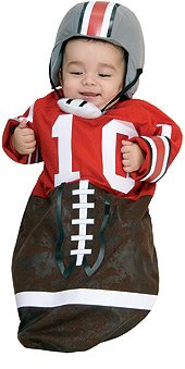 Rubie's Costume Co. Baby Boys' Football Player Bunting Costume