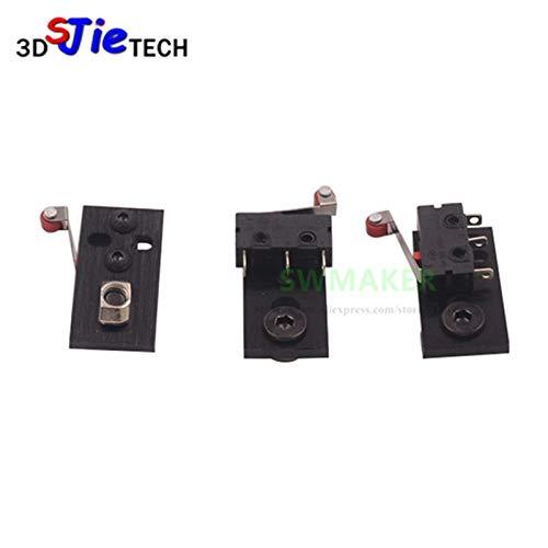 Part Option Plate - Zamtac 3pcs/lot openbuilds Parts CNC Aluminum Micro Limit Switch Kit with Mounting Plate 3D Printer - (Size: Option 2)