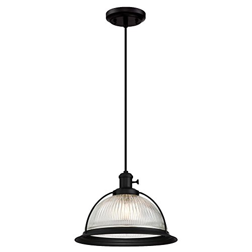 Ribbed Pendant Light in US - 4