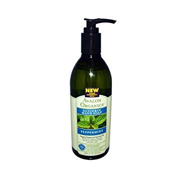 New - Avalon Organics Glycerin Liquid Hand Soap Peppermint - 12 Fl Oz (Peppermint Avalon Bath Organics)