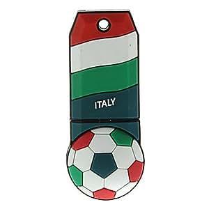 Italy-Ball Shaped Plastic USB Stick 32G
