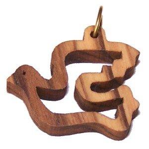 (Holy Spirit Olive wood Dove Laser (8cm or 3.15