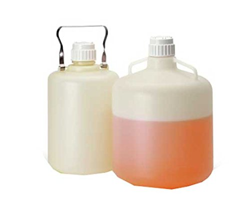 Nalge Nunc 342289-0050 Single-Use HDPE Carboy, Sterile, 20 L Capacity (Pack of -