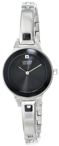 Citizen Eco-Drive Women's EX1320-54E Silhouette Bangle - Bracelet Bangle Ladies Eco Drive