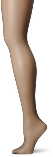 Hanes Silk Reflections Women's Waist Smoother Pantyhose, Jet