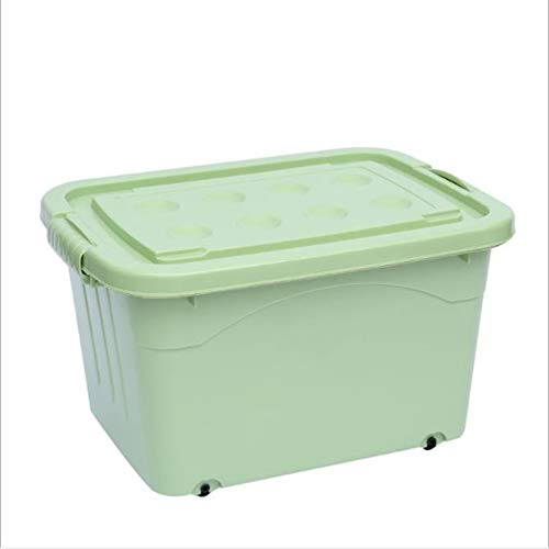 312 Car Storage Box Toy Storage Box Storage Box Plastic Wheeled Large Storage Box (Color : A, Size : A)