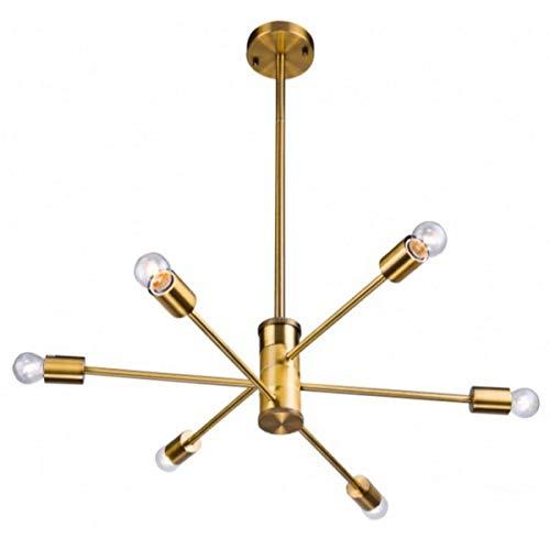 Gold Adjustable Arm Light Fixture