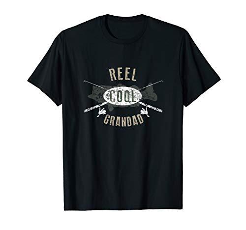Mens Reel Cool Grandad Shirt, Cute Fishing Father's Day Gift