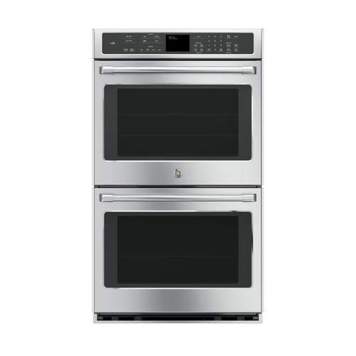 GE CT9550SHSS Cafe 30″ Stainless Steel Electric Double Wall Oven – Convection