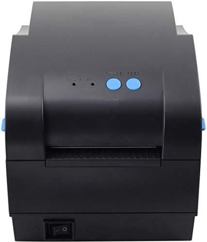 Xprinter XP-365B 80mm Thermal Label Printer,Thermal Barcode Printer, USB 2.0 Interface, Black by xprinter (Image #2)