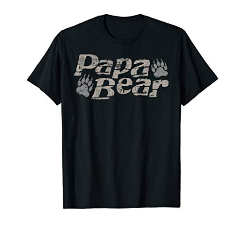 Papa Bear T-Shirt Father's Day Shirt Gift for Dad