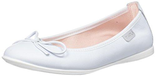 Pablosky Mädchen 830605 Geschlossene Ballerinas Elfenbein (Blanco 830605)