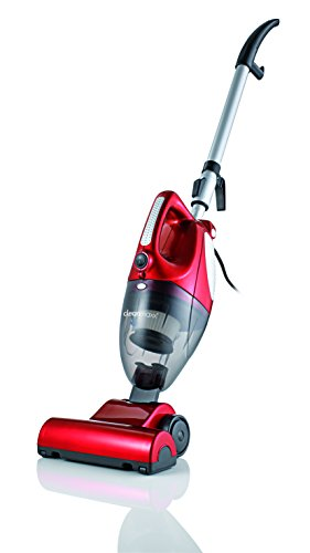 TV Unser Original 00157 cleanmaxx Turbo-Handstaubsauger 2-in-1 mit Bodendüse, 800 W, rot