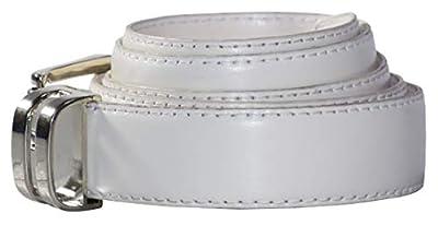 Tuxgear Boys Adjustable White Dress Belt