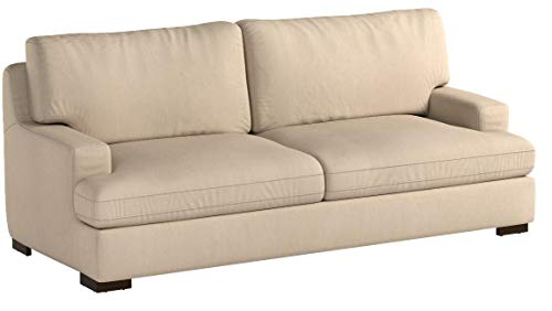 Stone & Beam Lauren Down Filled, Overstuffed Sofa, 89″W, Fawn - 7