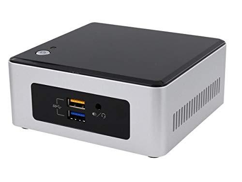 Intel NUC 5CPYH - MiniPC (65 W, Intel Celeron N3050 a 2.6 GHz, USB, HDMI), gris y negro