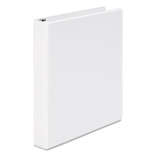 Wilson Jones 368 Basic Round Ring Binder, 1 Inch, White (W368-14NW)