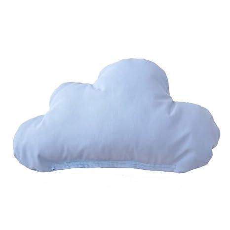 Cojín Nube Azul Celeste Desenfundable: Amazon.es: Bebé