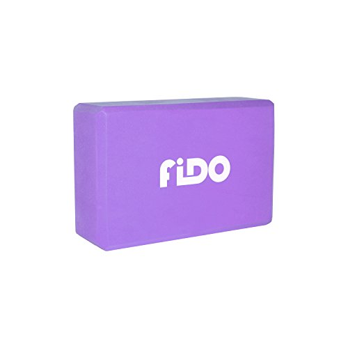 Fido Yoga - Premium High Density Eco-Friendly Recycled EVA Foam Yoga Block (9