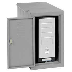 - Computer Cabinet Side Car, Gray, 12-1/8