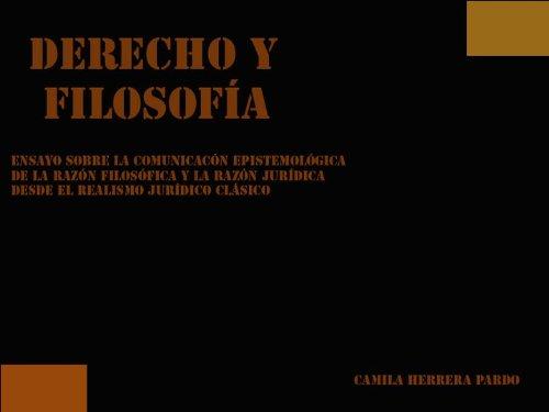 Descargar Libro Derecho Y FilosofÍa Camila  Herrera Pardo