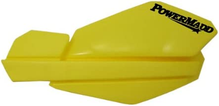 Yellow PowerMadd 34105 Trail Star Hand Guard