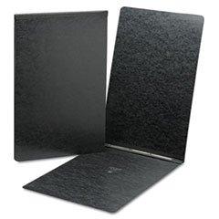 ** Top Opening Pressboard Report Cover, Prong Fastener, 11 x 17, Black
