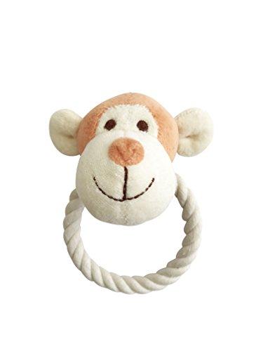 Simply Fido 23901 Beginnings Oscar Monkey Rope Toy, Orange, Small