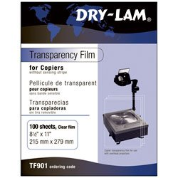Dry-Lam Transparency Film for Copiers - Box of 100 - Arts & Crafts Materials - ()